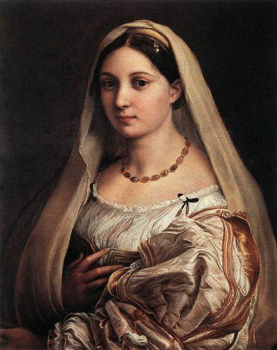 Woman with a Veil (La Donna Velata)
