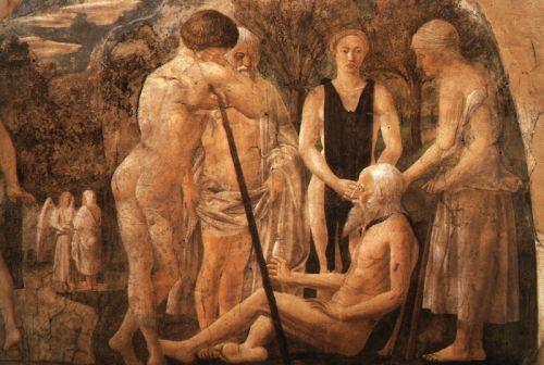 Death of Adam (detail) 3