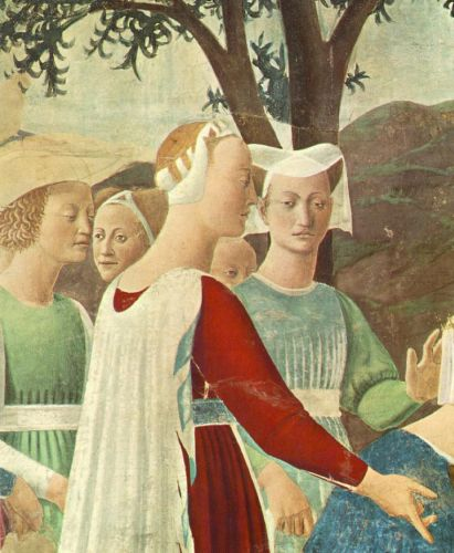 Adoration of the Holy Wood (detail) 3