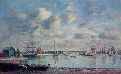 Camaret, Boats in the Harbor