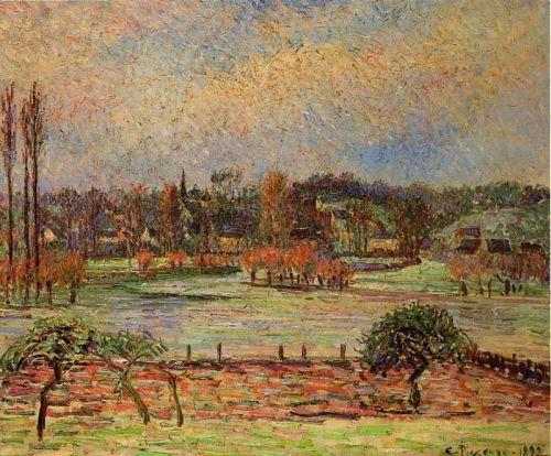 Flood, Morning Effect, Eragny