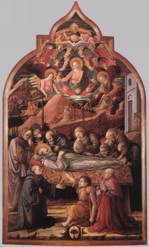 Funeral of St Jerome