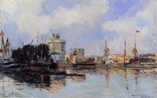 La Rochelle, the Harbor, Bright Sky