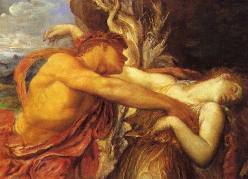 Orpheus and Eurydice (Detail)