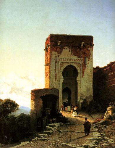 Porte de Justice, Alhammbra, Granada