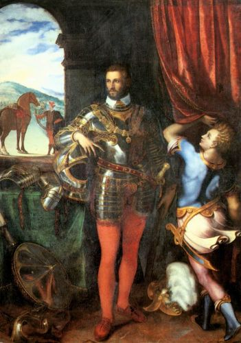 Portrait of Ottavio Farnese