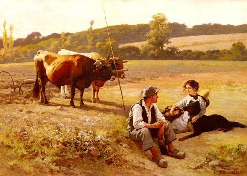 Rest In The Fields
