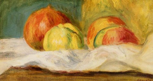 Still Life with Apples and Pomegranates