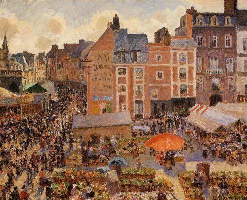 The Fair, Dieppe - Sunny Afternoon