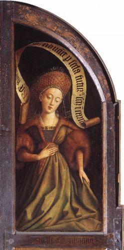 The Ghent Altarpiece - Cumaean Sibyl