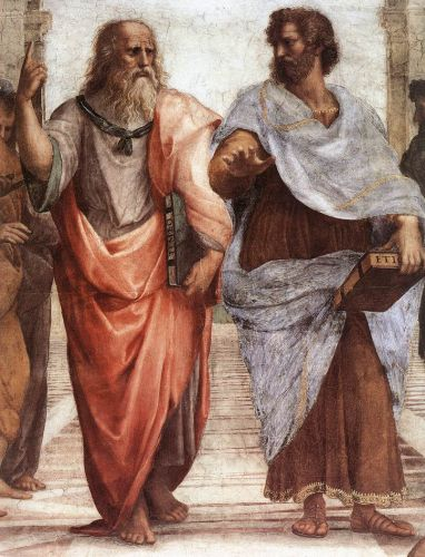 The School of Athens (detail) 1