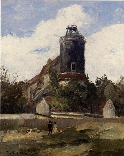The Telegraph Tower at Montmartre