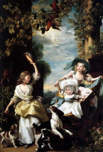 The Three Youngest Daughters of George III