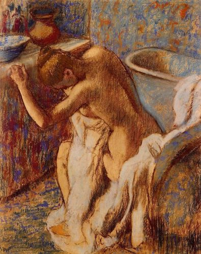 Woman Drying Herself 3