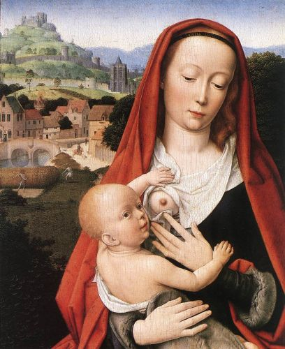 Mary and Child (detail)