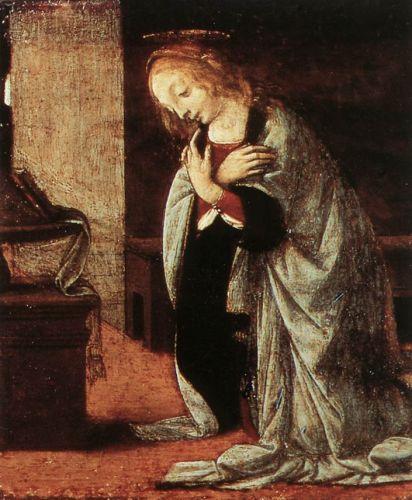 Annunciation 2 (detail) 2