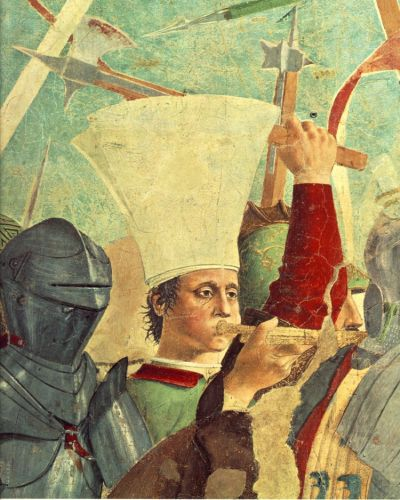 Battle between Heraclius and Chosroes (detail) 1