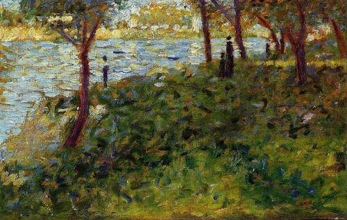 La Grande Jatte - Landscape with Figures