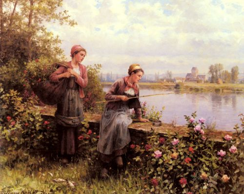 Maria And Madeleine Fishing
