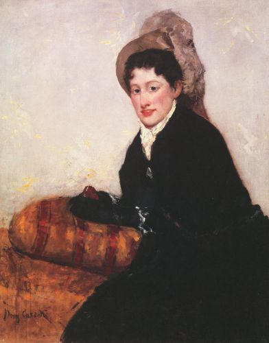 Portrait of a Woman Dressed for Matinee