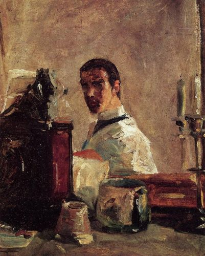 Self Portrait in front of a Mirror