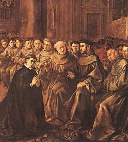 St Bonaventure Joins the Franciscan Order