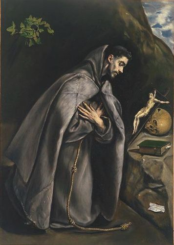 St Francis Venerating the Crucifix
