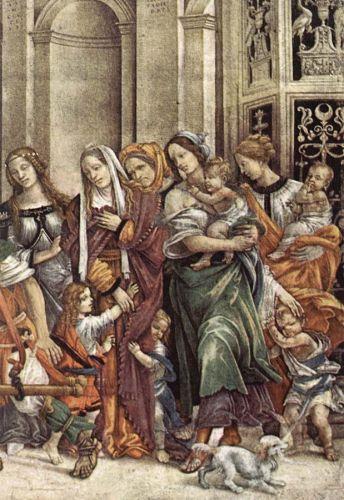 St John the Evangelist Resuscitating Druisana (detail)