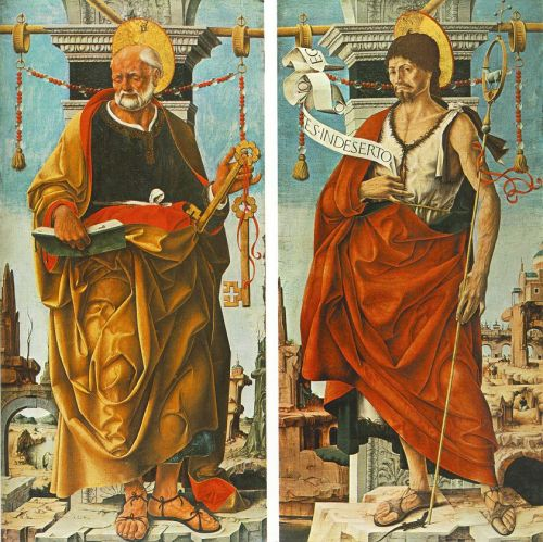 St Peter and St John the Baptist (Griffoni Polyptych)