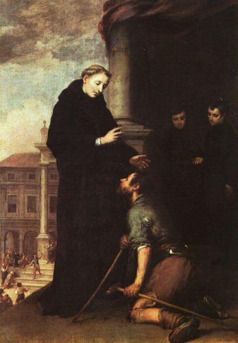 St. Thomas of Villanueva Distributing Alms