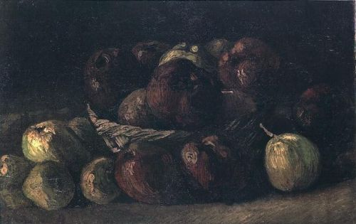 Still Life with Basket of Apples 1