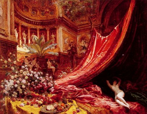 Symphony in Red and Gold
