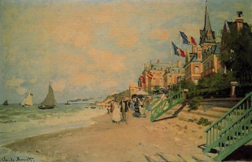 The Beach at Trouville 1