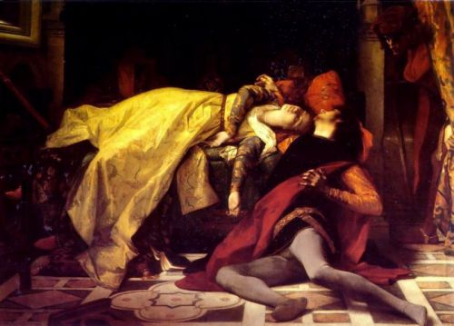 The Death of Francesca da Rimini and Paolo Malatesta