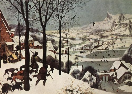 The Hunters in the Snow (Winter)