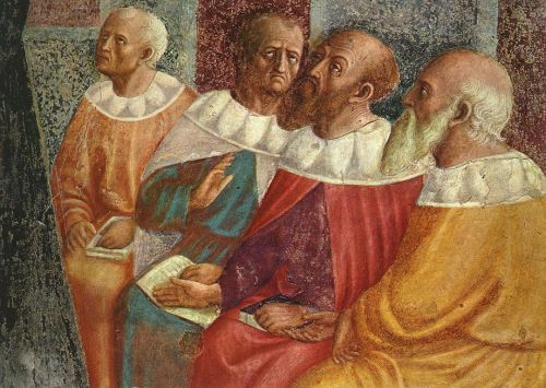 The Philosophers of Alexandria (detail)