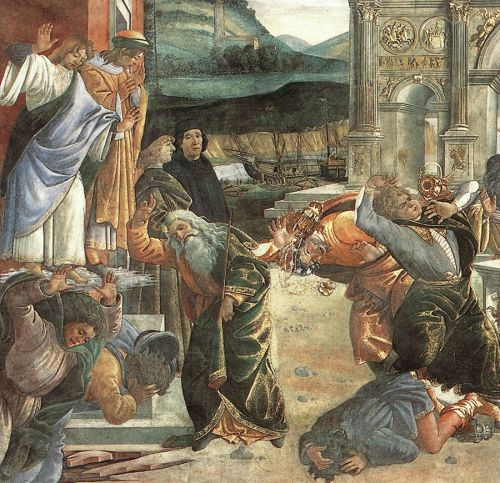 The Punishment of Korah (detail) 2