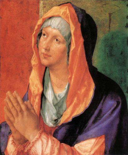 The Virgin Mary in Prayer