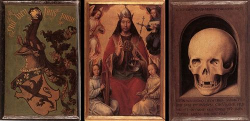 Triptych of Earthly Vanity and Divine Salvation (rear)