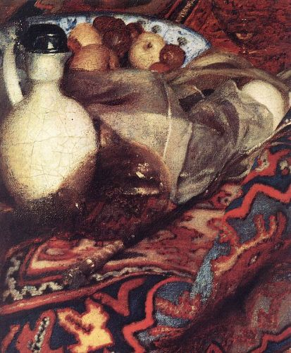 A Woman Asleep at Table (detail) 3