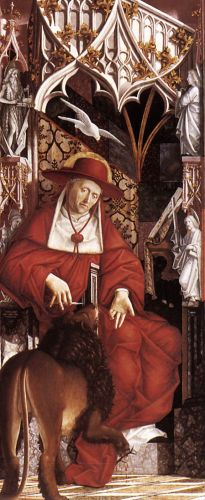 Altarpiece of the Church Fathers - St Jerome