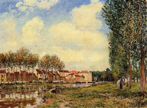Banks of the Loing at Moret, Morning