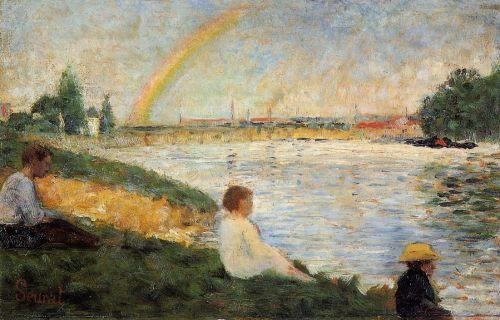 Bathing at Asnieres - Rainbow