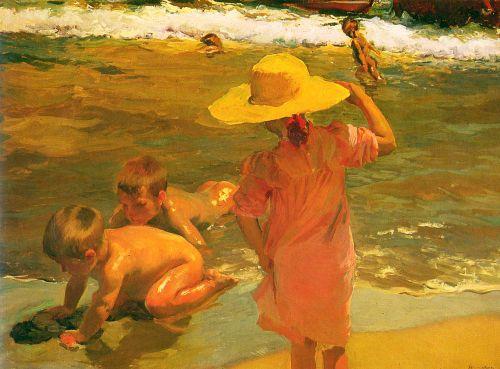 Children on the Sea-shore