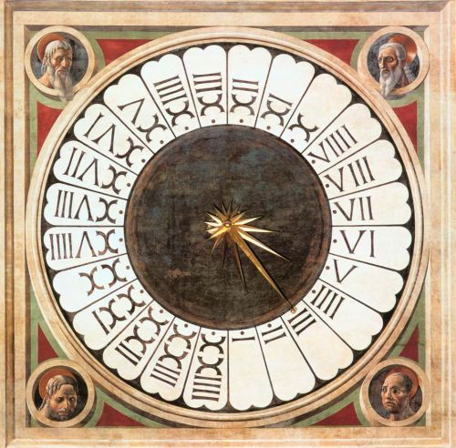 Clock with Heads of Prophets