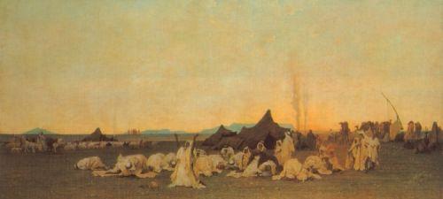 Evening Prayer in the Sahara
