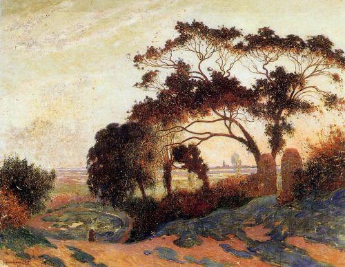 Landscape, Hills of Guerande