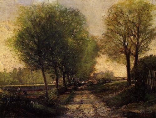Lane near a Small Town