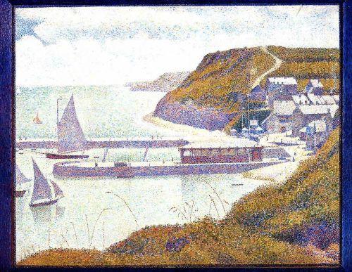 Port-en-Bessin, The Outer Harbor, High Tide