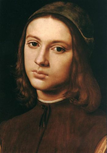 Portrait of a Young Man (detail)